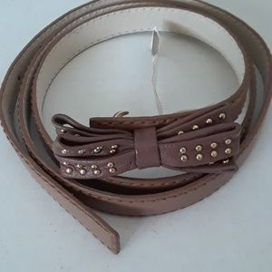 Vince Camuto Synthetic Leather Belt XL